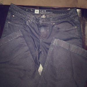 Mossimo size 6 black jeans
